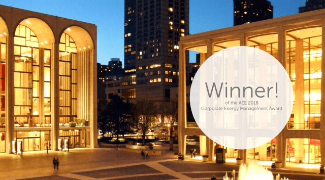 A Landmark of Culture and Sustainability: Lincoln Center's Award-Winning Corporate Energy Management Program