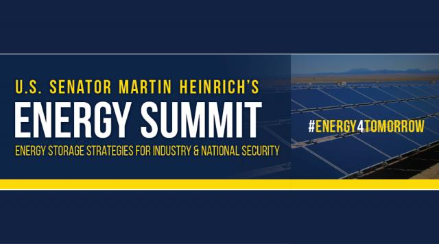 Top 5 takeaways from Senator Heinrich's Energy Summit