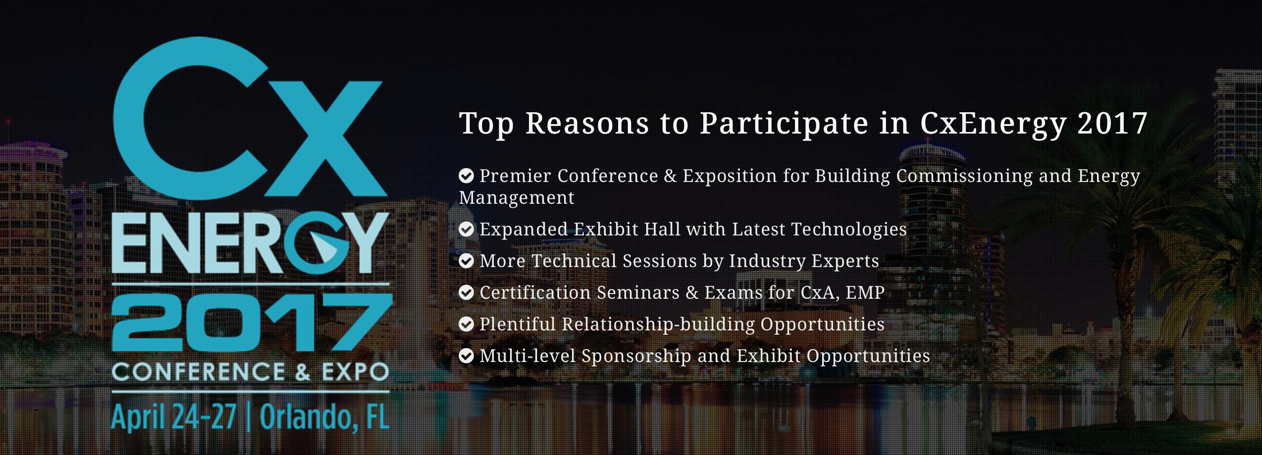 CxEnergy 2017 Conference & Expo