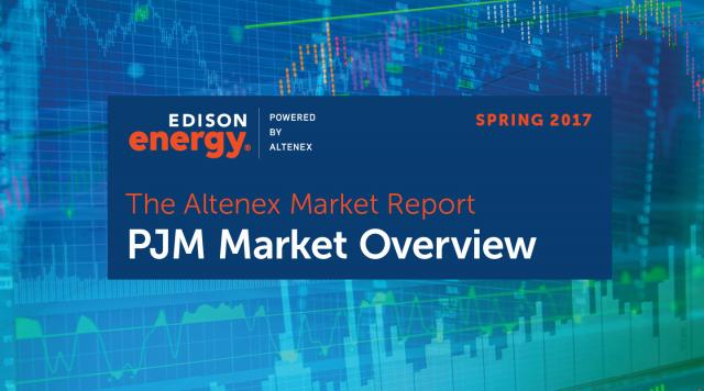 The Altenex Market Report – Spring 2017: PJM Market Overview