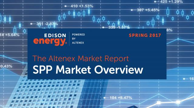 The Altenex Market Report – Spring 2017: SPP Market Overview