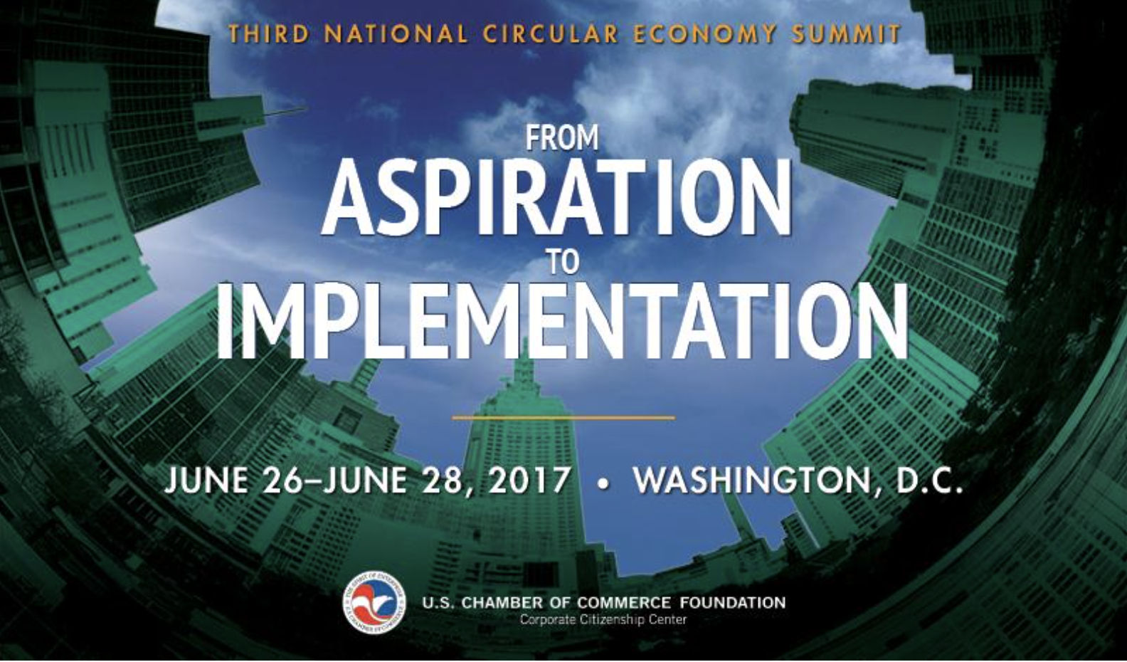 From Aspiration to Implementation: 2017 Sustainability and Circular Economy Summit