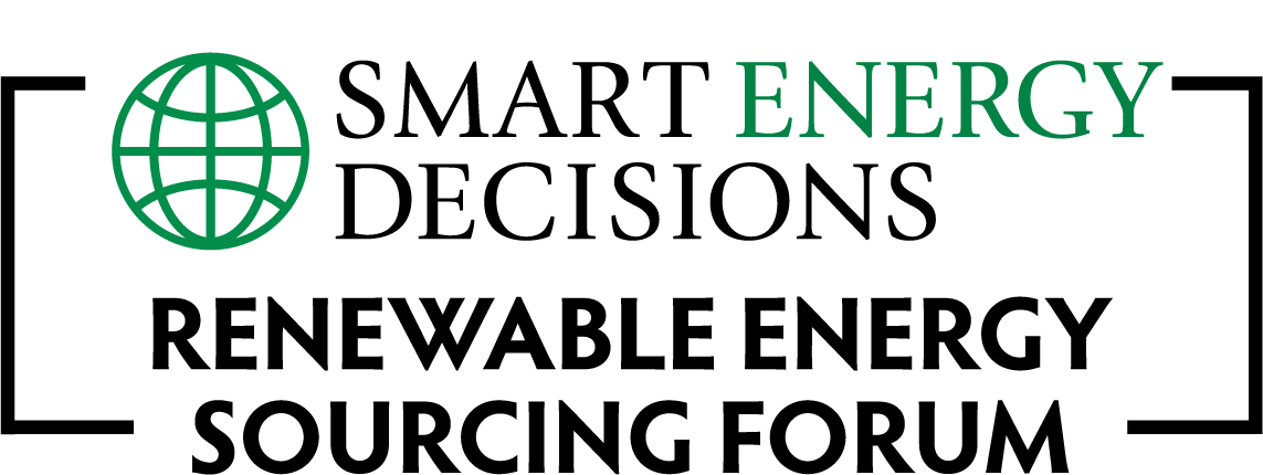 Smart Energy Decisions Renewable Energy Sourcing Forum Logo