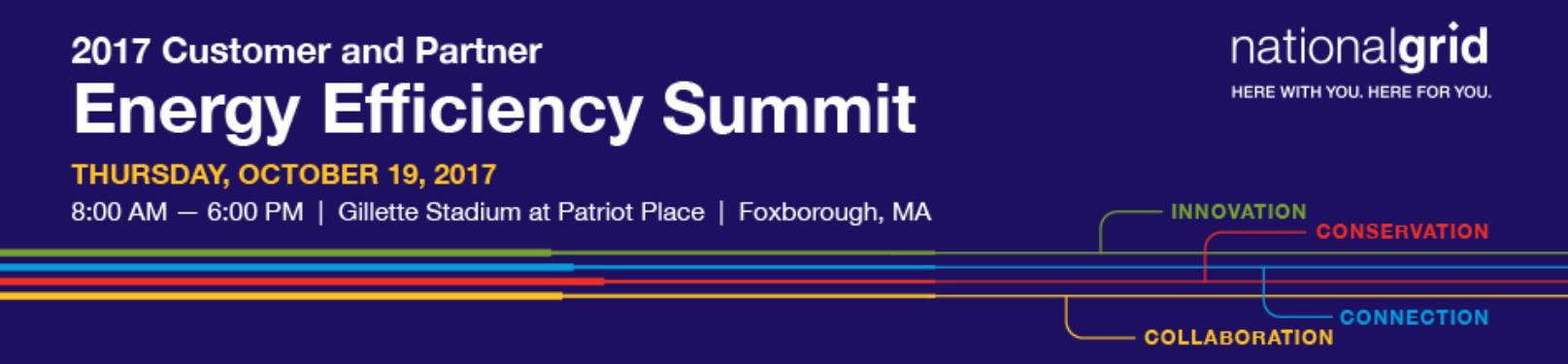 National Grid Energy Efficiency Summit Banner