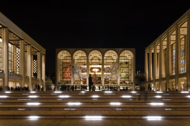 Energy Management at Lincoln Center for the Performing Arts