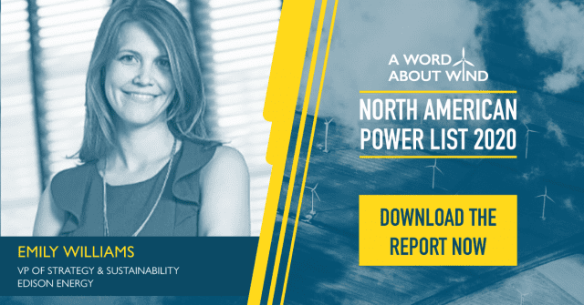 North American Power List Names 100 Most Influential Individuals in North American Wind Industry