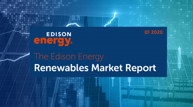 Edison Energy Renewables Market Update