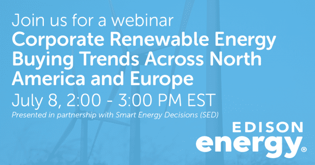 Corporate Renewable Energy Buying Trends Across North America and Europe