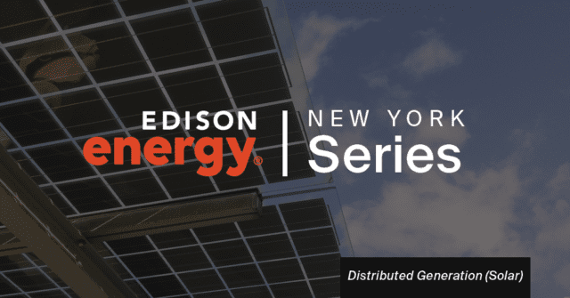 New York State Distributed Generation: Solar Opportunities and Challenges
