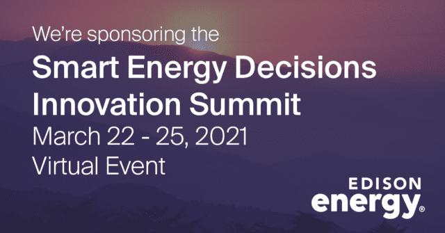 smart energy decisions innovation summit