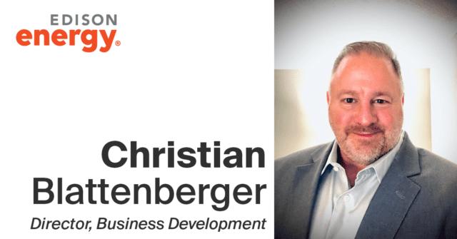 Meet the Team: Christian Blattenberger