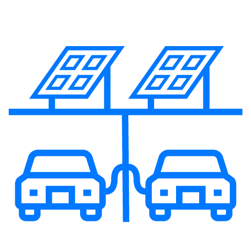 electric vehicle icons