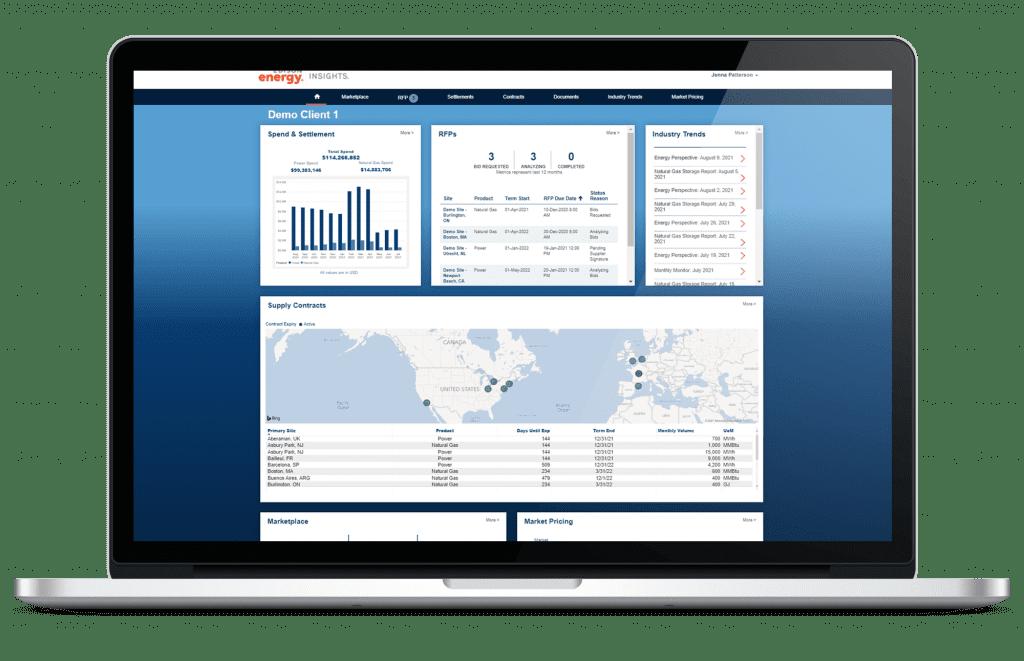 Supply Procurement Management Laptop