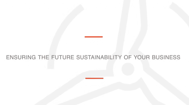 10663Video: Ensuring the Future Sustainability of Your Business