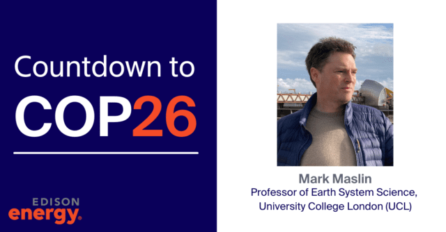Mark Maslin talks the politics of climate change and what countries must achieve at COP 26